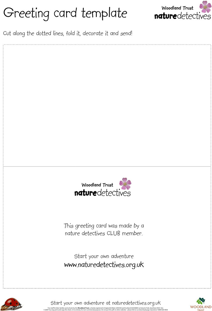 Greeting Card Template 2