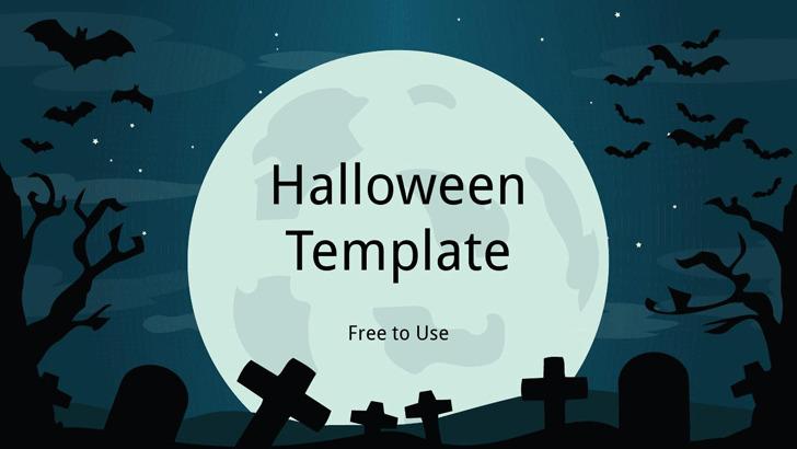 Halloween Powerpoint Template 1
