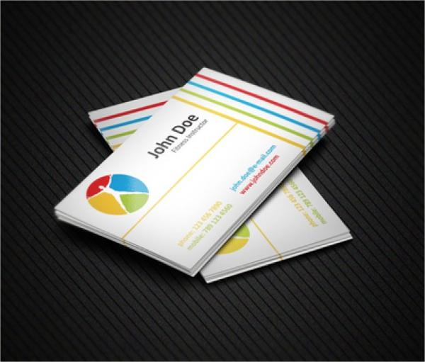 Health Theme Business Card Template