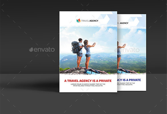 Holiday Travel Agency Bifold Brochure