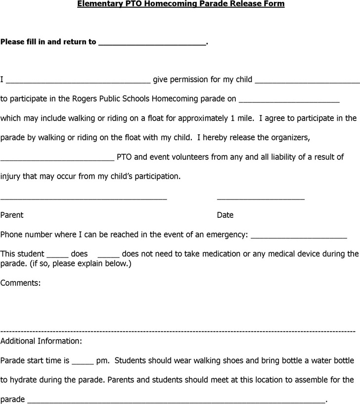 Permission Slip Template  Download Free  Premium Templates