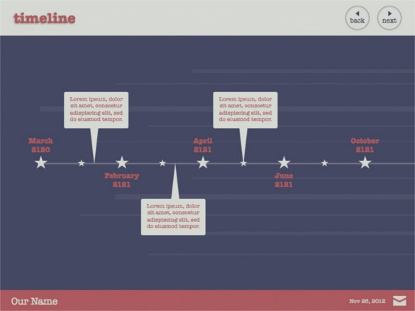 Keynote Timeline Templates  Download Free  Premium Templates