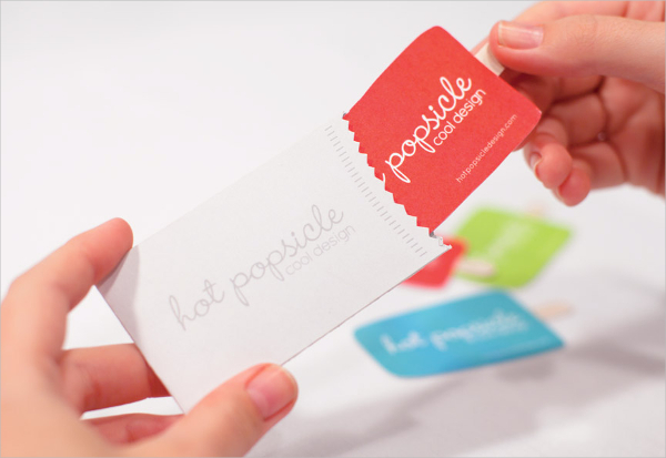 Hot Popsicle New Business Card Design