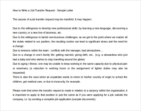 Transfer application essay advice