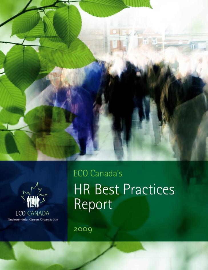 Hr Best Practices Report Template