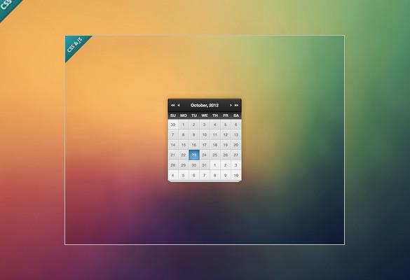 HTML Calendar Templates | Download Free & Premium Templates, Forms ...