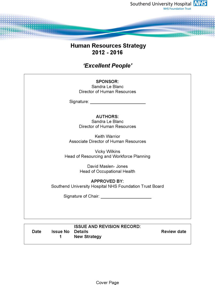 Hr strategy templates download free premium templates for Human resources strategic planning template