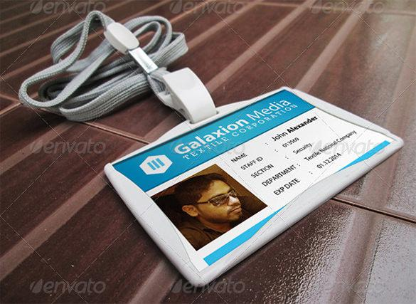 ID Card PSD Template Download