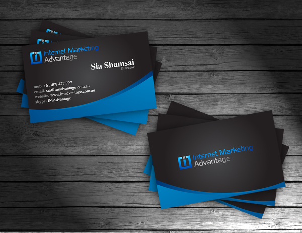 IMA Business Cards Design