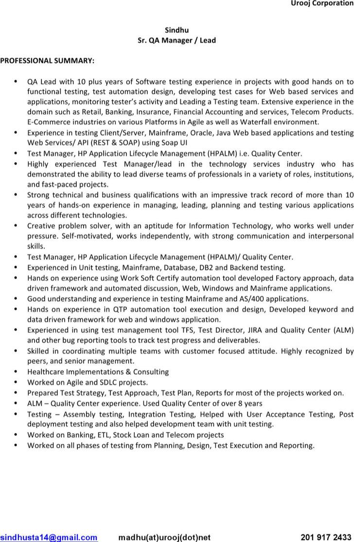 Impressive Parse Resume