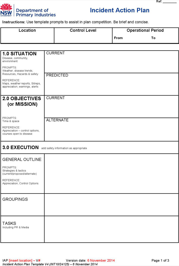Action Plan Templates  Download Free  Premium Templates Forms
