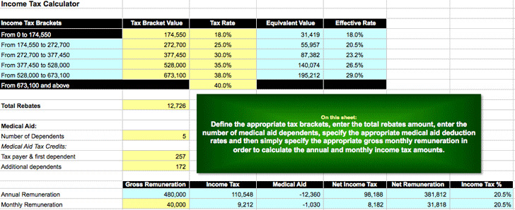 Income Tax Calculator 3