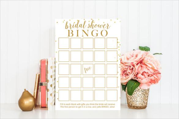 Instant Download Blank Bingo Printable