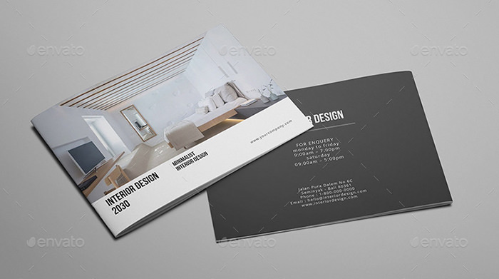 Interior Design Brochure Catalog Sample