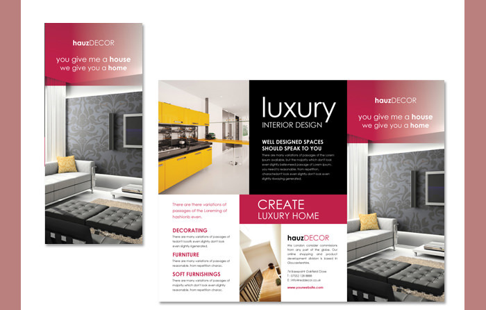 Interior Decoration Brochure Download Free Premium Templates Forms Samples For Jpeg Png