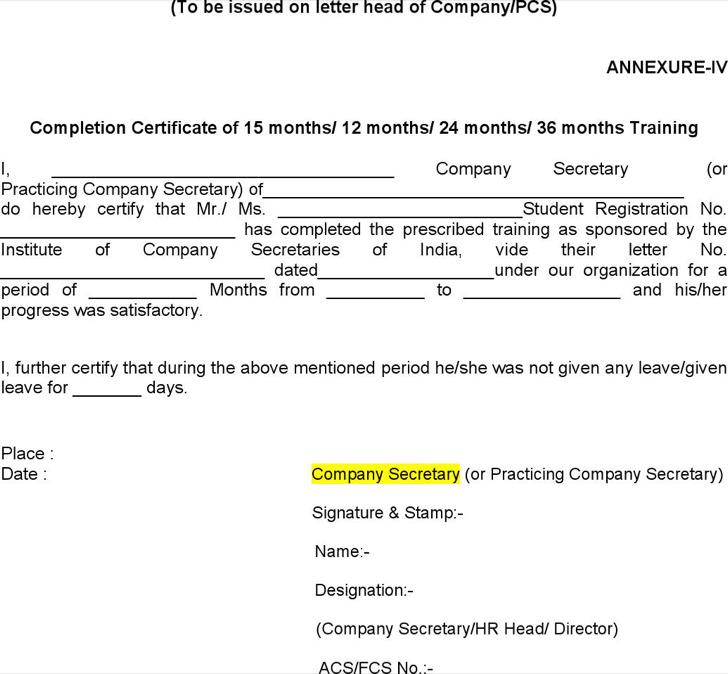 Boot Camp Internship Program Certificate Template U2026 Download, Internship  Completion Certificate Format And Summer Internship Certificate Sample.