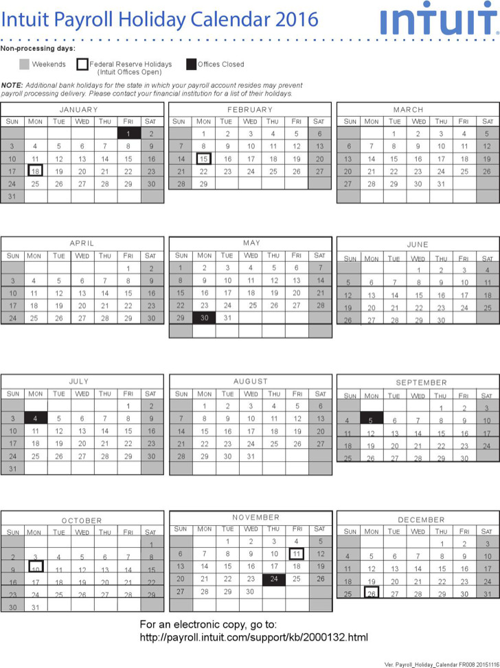 Payroll Calendar Templates  Download Free  Premium Templates
