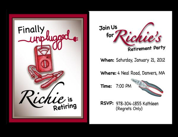 Invitation Retirement Party Template