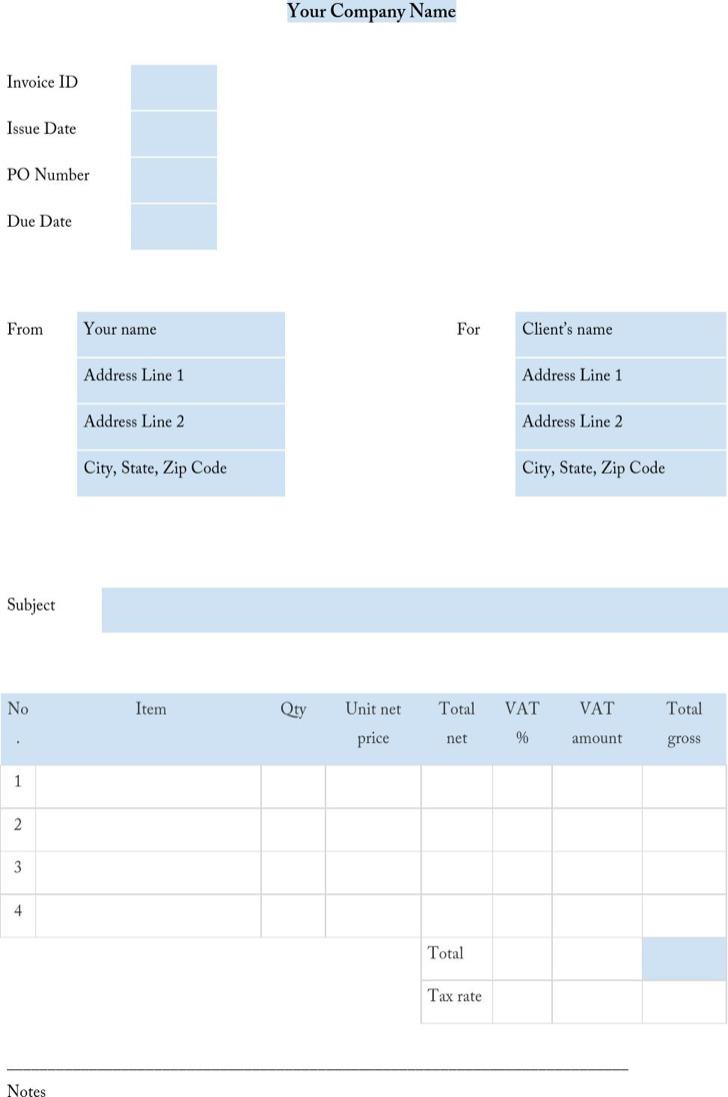 Invoiceocean Invoicetemplate Blue1