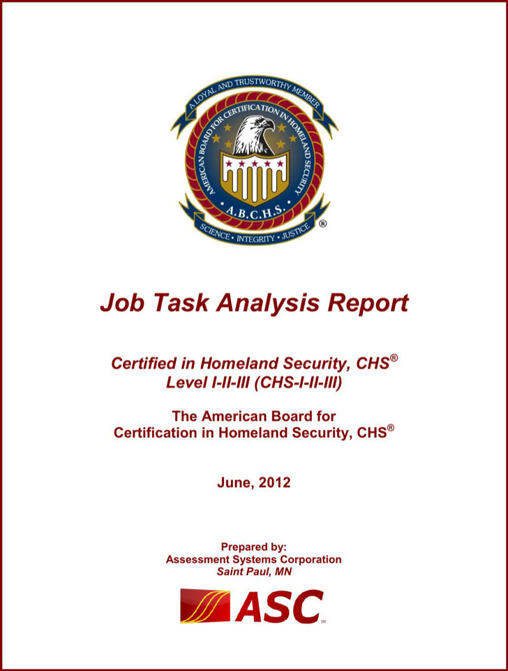 Job Task Analysis Report Pdf Format Download