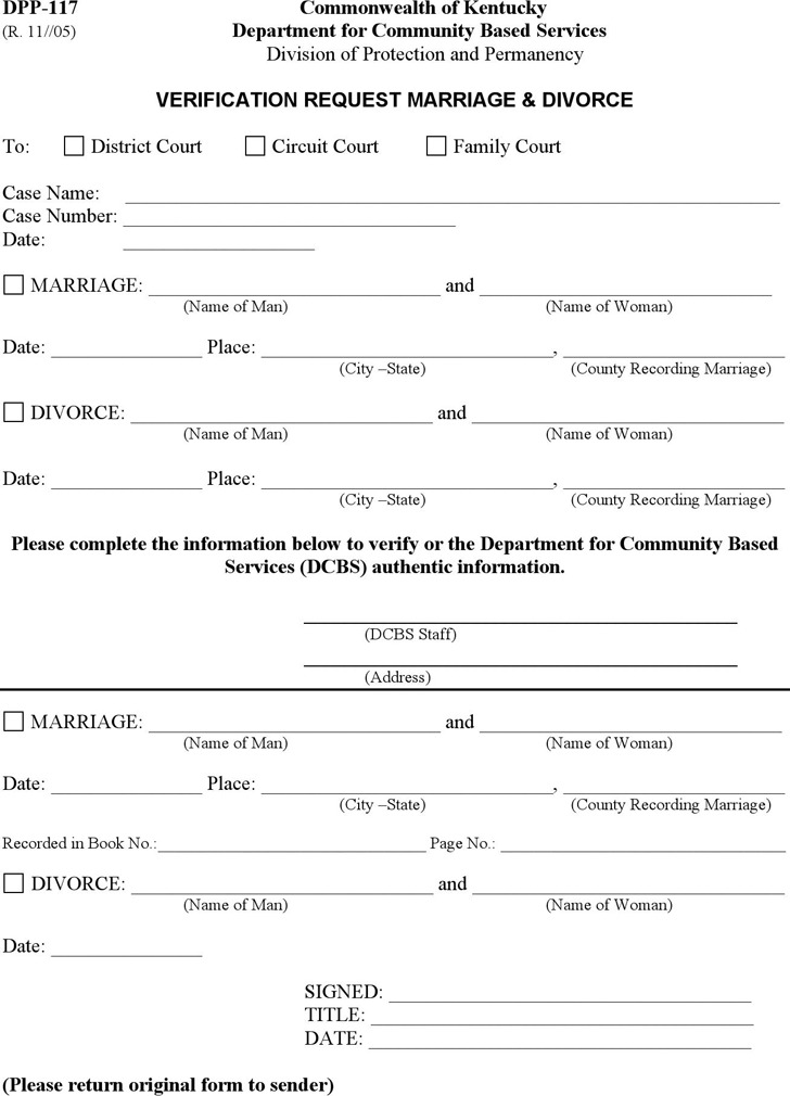 Divorce Form. Sample Divorce Settlement Agreement Form Template