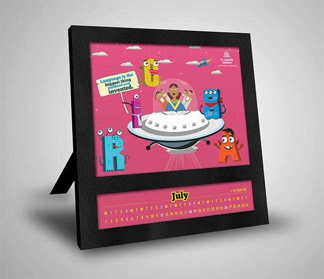Kids Calendar Template