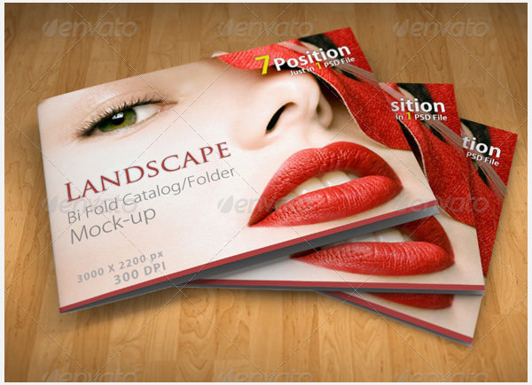 Landscape A4/A5 Bi-Fold Brochure