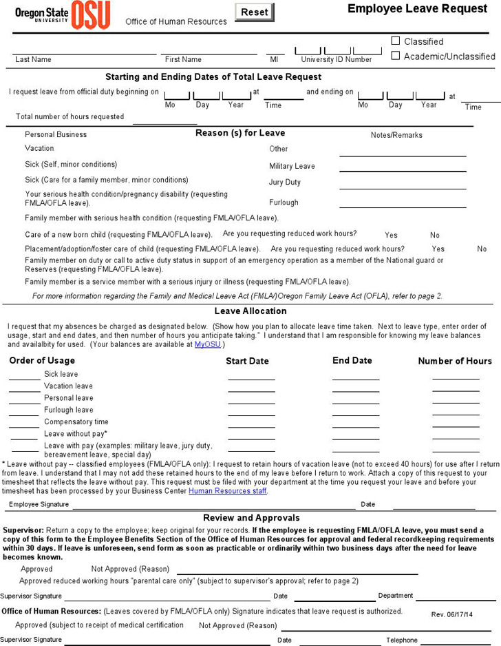 Request For Leave Template Template Of Wedding Leave Application
