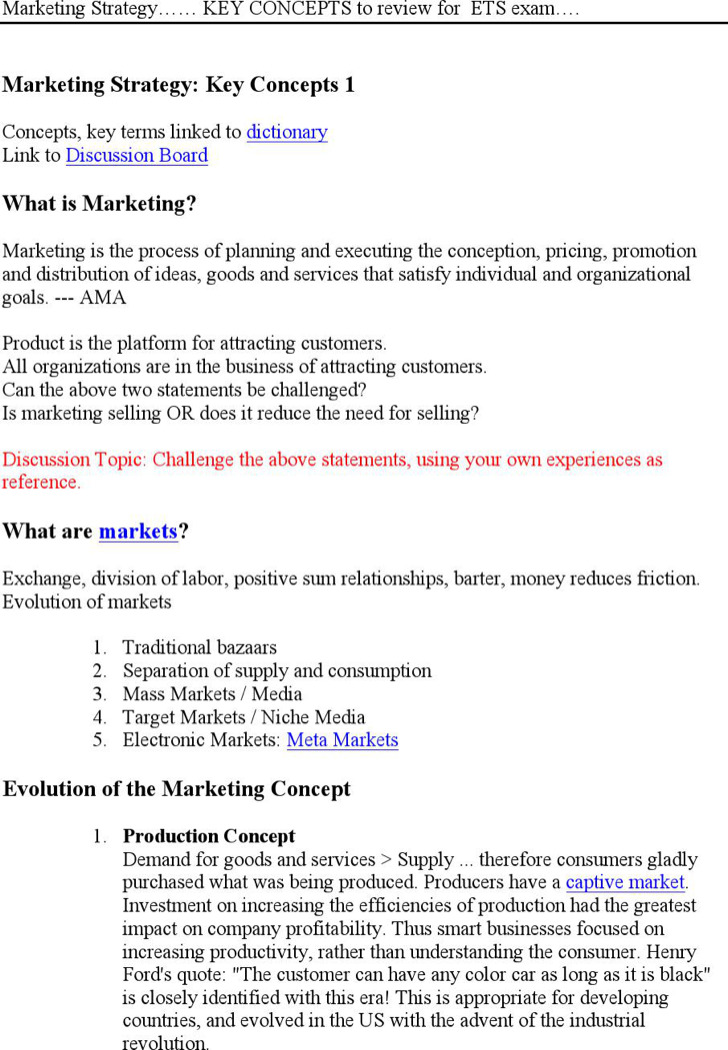 Letter Of Intent For Changes In Marketing Strategy