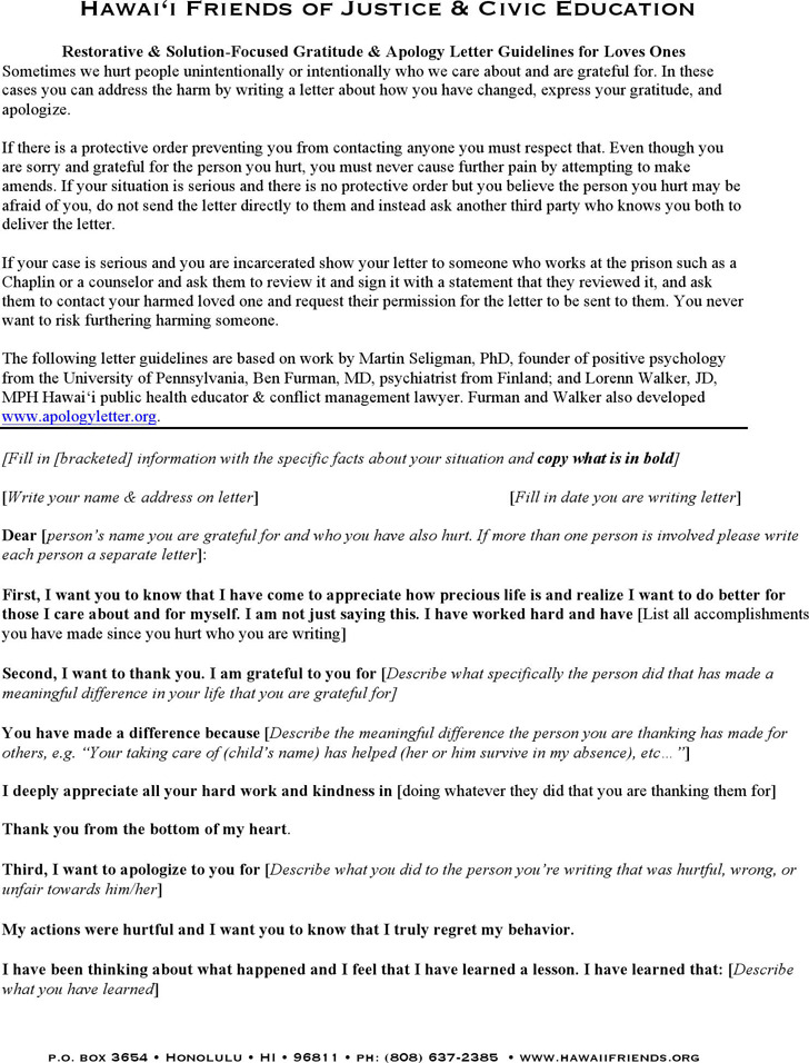 Apology Love Letter  Download Free  Premium Templates Forms
