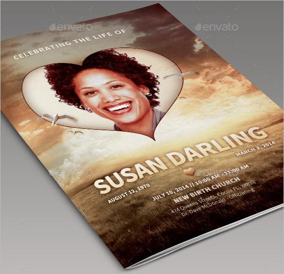 Life of Love PSD Obituary Template Download Free