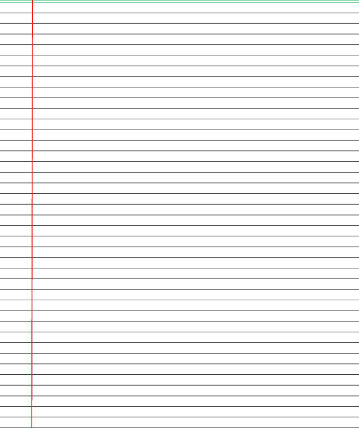 Lined Paper For Notebook