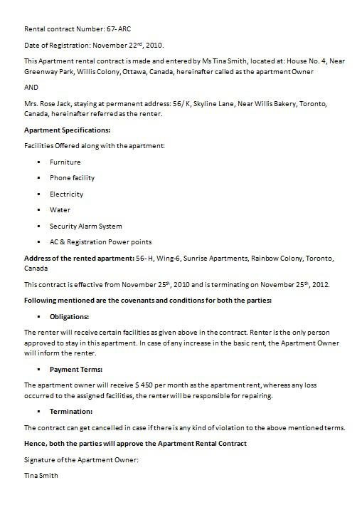 Loan Contract Template PDF Format