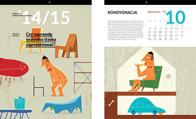 Lodz Design Kids Calendar