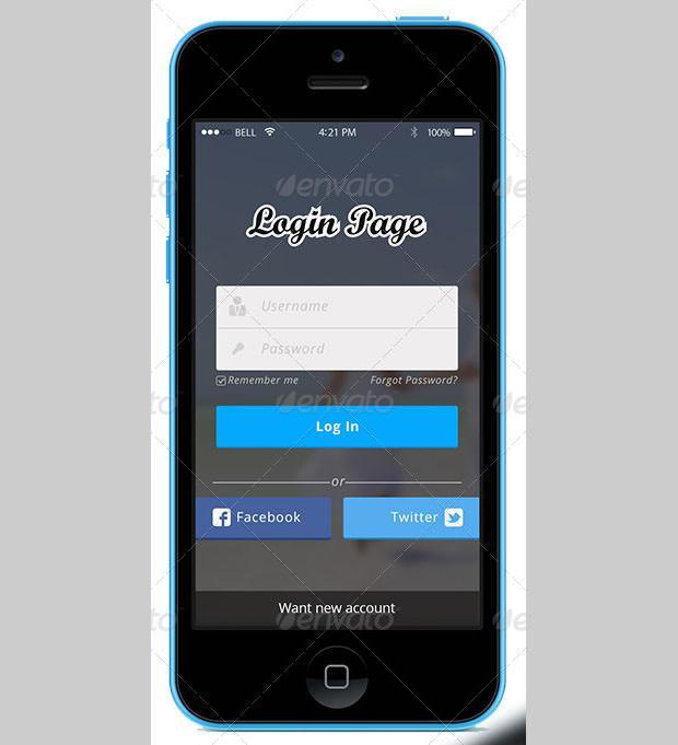 Login Page App