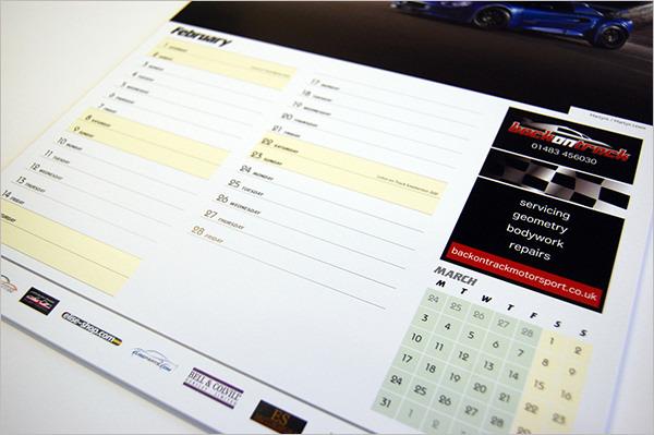 Lotus Event Calendar Template