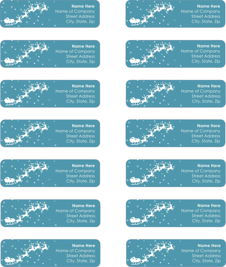 Mailing Label Template 3