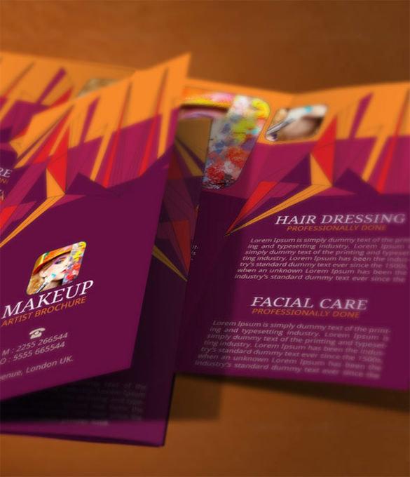 Makeup Brochure Modern Design Template