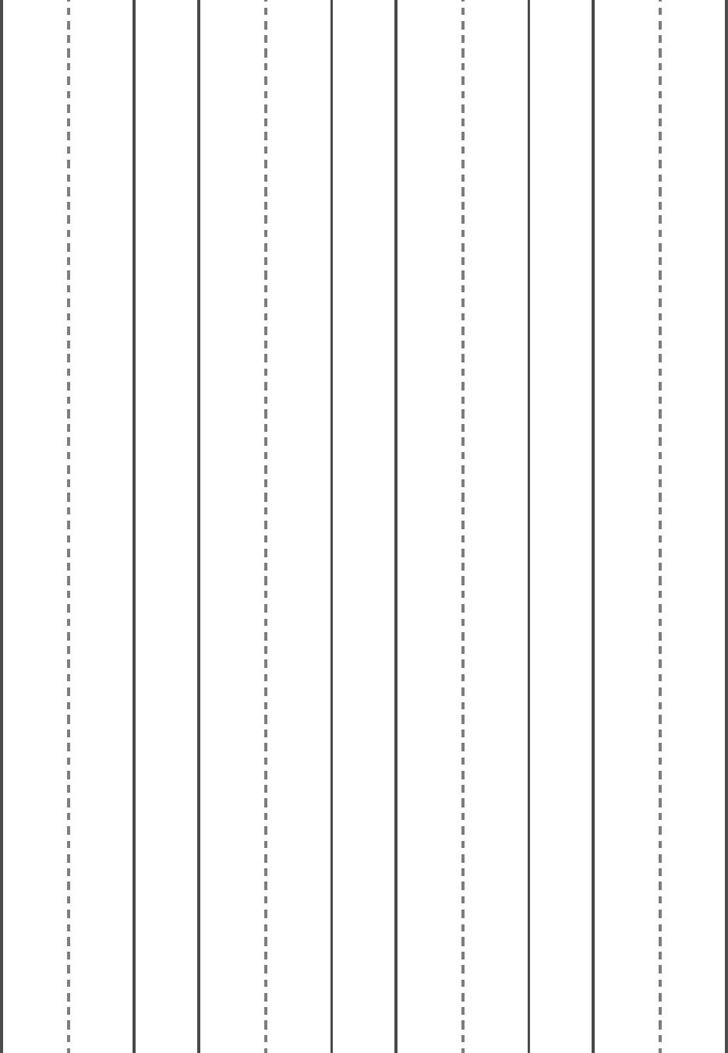 Manuscript Blank Paper-Large - Horizontal