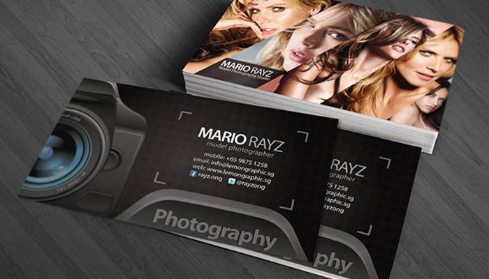 Mario Rayz Photography Card