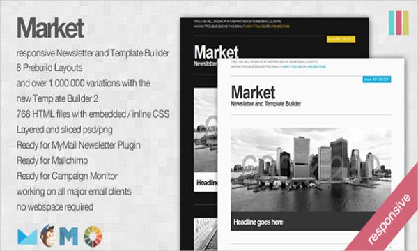 Market Responsive Newsletter Template