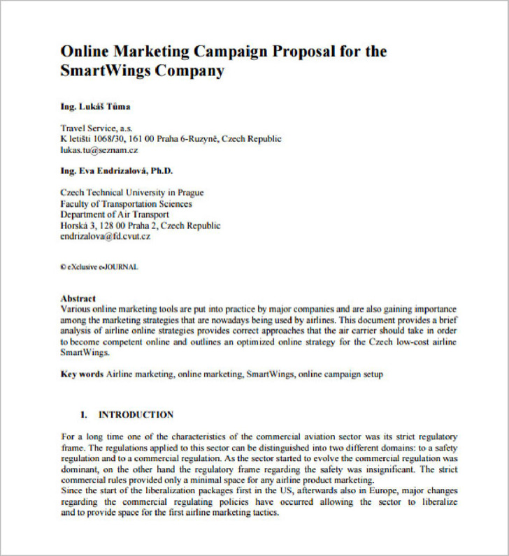 Marketing Campaign Proposal Pdf1