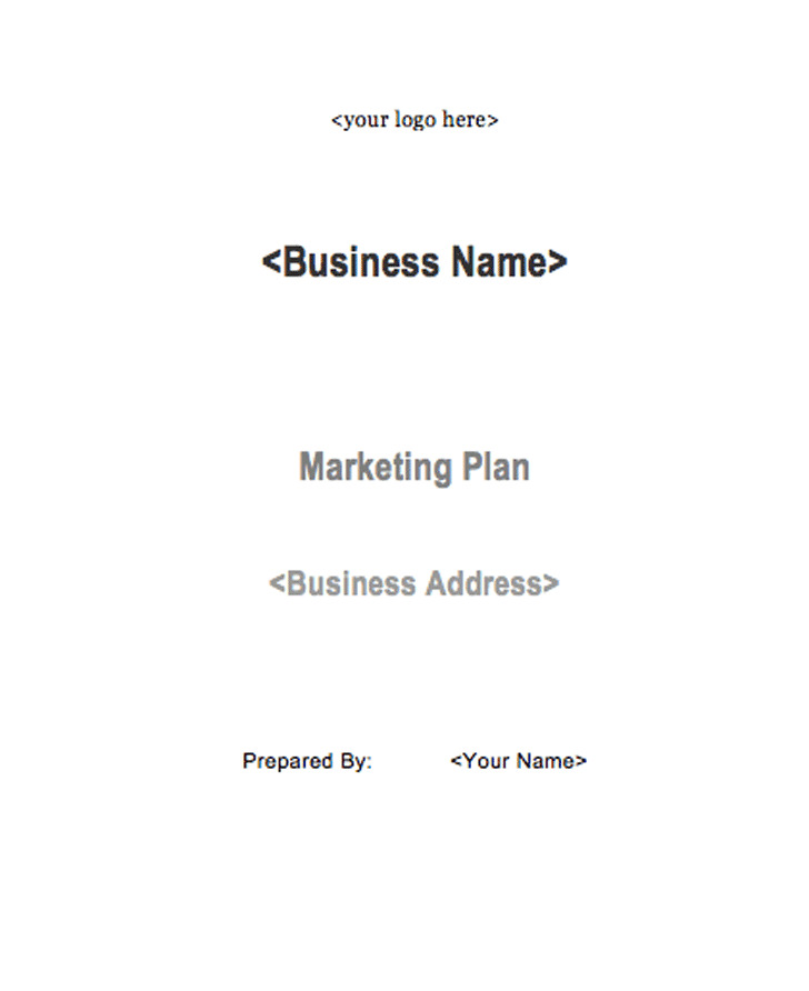 Marketing Plan Sample