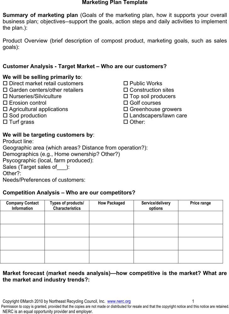 Marketing Plan Template1