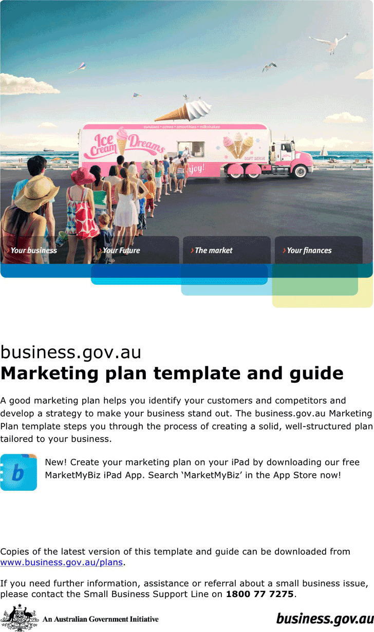 Marketing Plan Template 3 (With Guide)