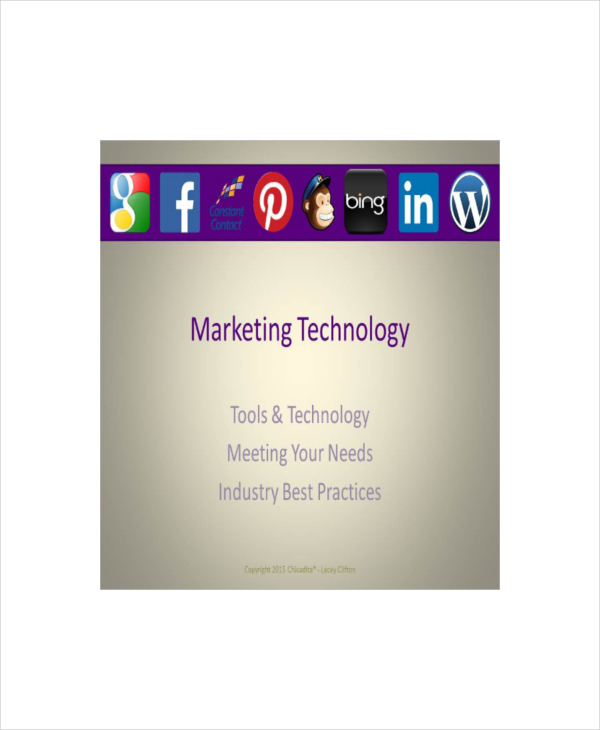 Marketing Technology Presentation Template
