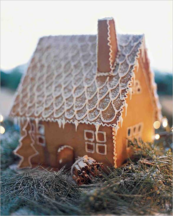 Martha Stewart Ginger Bread House Recipe Template