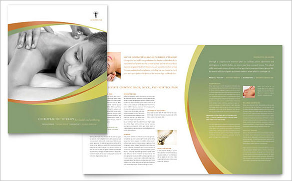 Massage & Chiropractic Brochure Template for $99