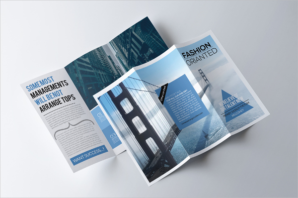 Medical Advertising Brochure Template