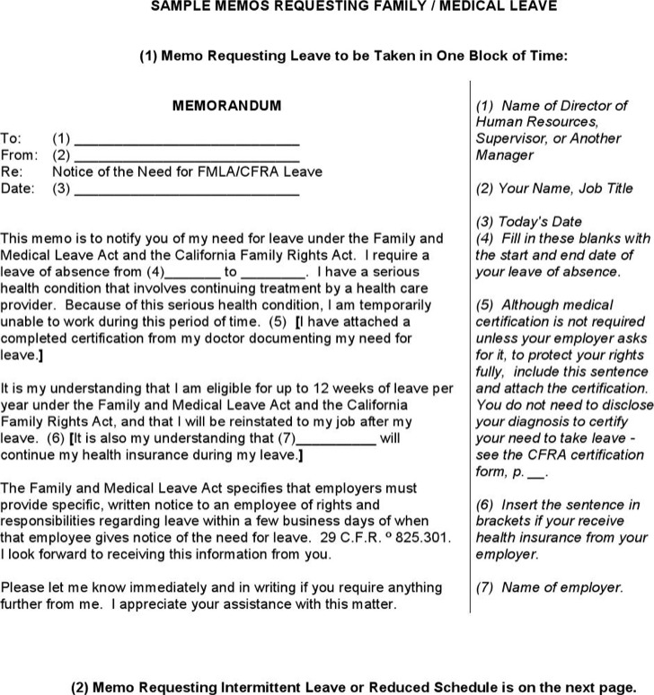 Request Letter For Medical Leave Dissertation Review
